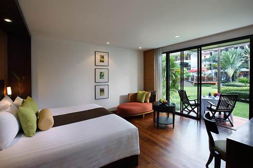 Honeymoon hotel review - Amari Palm Reef Samui