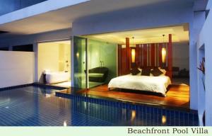 La Flora resort Pool Room