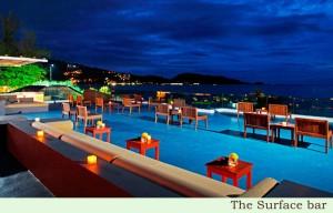 La Flora resort at night