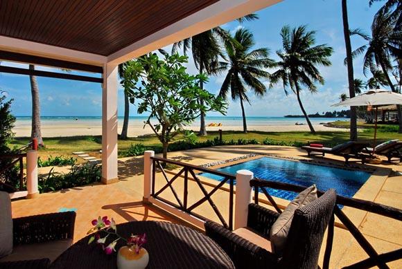 Samui Beach Village honeymoon suit Orchid