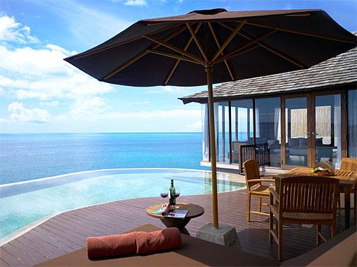 Silavadee Pool Spa Resort room view